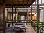 Nhà mái tôn mang đậm nét bản địa tại Châu Đốc, An Giang