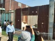 Phát hiện bốn căn nhà trái phép trên một thửa đất