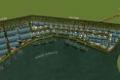 Cho thuê nhà xưởng xây sẵn, kho bãi, cảng thủy nội địa chỉ cách Cảng Quốc Tế Long An 6km đường sông.