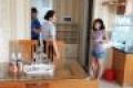 Cho thuê căn hộ Biconsi  Hiệp Thành 3 look A 1phòng ngủ Dt 45m2,Full nội thất,tầng 8 giá 6triệu/tháng