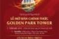 An cư đẳng cấp - đầu tư vượt trội tại Golden Park Tower.