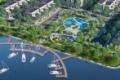 Mở Bán Nhà Phố, Biệt thự có bến du thuyền của Khu Biệt Lập Trần Anh Riverside tại Bến lức với giá 1.2 tỷ -090.393.747