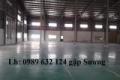 Cho thuê kho chứa hàng tại KCN Sóng Thần, Cát Lái, Quận 2