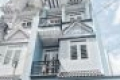 Cần bán nhà riêng, sổ hồng riêng: 3 tỷ 525 triệu, diện tích: 56m2 (4*14m). DT sử dụng 170m2