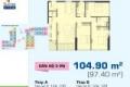Bán nhanh giá rẻ Sunrise City View 104m2 ,3PN,giá 3,75 tỷ .Lh trực tiếp 0909802822