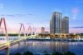 Bán căn hộ lô góc 2 mặt view dự án Sunshine Riverside. Diện tích 83.51m2, gồm 3PN, 2WC.