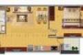 Cần sang nhượng lại căn hộ tòa CT1A Nghĩa Đô 106 Hoàng Quốc Việt, 46m2, thô.