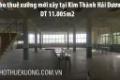 Cho thuê 10.005m2 nhà xưởng mới xây tại Kim Thành Hải Dương giá tốt