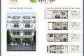 Nhà phố ở TT Tp.Tân An, giá 1,7 tỷ/căn, sổ hồng riêng, nhận nhà cuối năm hoặc đầu quý 1 2019