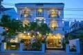 Cho thuê nhà mặt phố MT: 10m DT: 120m2, 5 tầng, thông sàn phố Trần Phú.