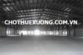 Cho thuê kho xưởng giá rẻ tại KCN Trung Hà Tam Nông Phú Thọ DT 1515m2