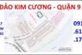 Chính chủ bán nhanh lô mặt tiền 30m dự án Đảo Kim Cương - Quận 9 - chỉ 3,950 tỷ/nền