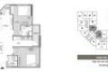 Bán gấp căn hộ 2PN số 09_ 61,5m2_giá rẻ tòa M1 Mipec City View Hà Đông