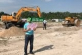 Bán lô đất 500m2 đường Hội Bài - Châu Pha, Cảng Cái Mép - Thị Vải ở Phú Mỹ, 2.3 tr/m2. 0908982299