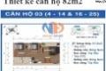 Chính chủ gửi bán căn hộ 67m2 tại chung cư dự án Ban Cơ Yếu Chính Phủ giá rẻ 1.6 tỷ