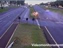 Va chạm thảm khốc giữa biker và ô tô