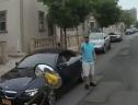 Tay lái BMW dọa sẽ tìm tài xế xe buýt vì phải nhường đường