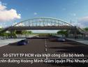 Khởi công cầu bộ hành trong công viên lớn nhất TP HCM