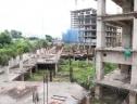Cảnh hoang tàn ở tổ hợp chung cư