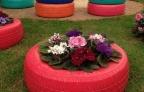 Những ý tưởng cho chậu hoa tái chế tuyệt đẹp