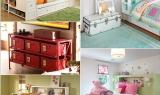 7 ý tưởng tuyệt vời tạo không gian lưu trữ trong phòng trẻ