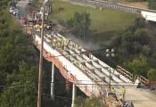 Timelapse 262 giờ xây cầu ở Mỹ