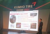 Kumho Tire giới thiệu lốp xe cao cấp tại Việt Nam