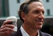 Howard Schultz thôi giữ chức CEO của Starbucks vào năm 2017