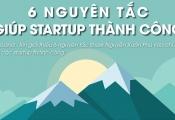 Infographic: 6 nguyên tắc giúp startup thành công