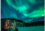 Trải nghiệm một đêm nghìn sao ở Bắc Cực với giá 100.000 USD