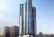 Tổ hợp thương mại, căn hộ dịch vụ V.K Tower