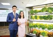 """Khởi nghiệp với """"máy"""" trồng rau trong nhà"""