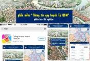 Sở Quy hoạch Kiến trúc TP.HCM chạy thử nghiệm xem quy hoạch qua internet và smartphone