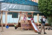 Nhân rộng mô hình sân chơi trong khu dân cư