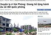 Phó Thủ tướng Thường trực chỉ đạo xử lý vụ giang hồ xâu xé đất quốc phòng ở Hải Phòng