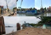 Mùa mưa đến gần, dự án chống sạt lở trăm tỷ vẫn 'án binh bất động'
