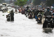 Kẹt xe, ngập lụt do lỗi quy hoạch