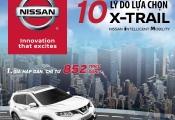 10 lý do lựa chọn Nissan X-Trail