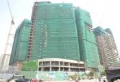 Cất nóc tòa nhà cuối cùng dự án Mandarin Garden