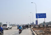 Đông Tăng Long hút khách nhờ tiến độ nước rút của cao tốc và đường Vành đai