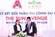 Novaland ký hợp đồng thi công xây dựng The Sun Avenue với AGC