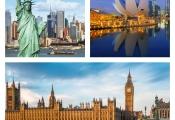 London, New York và Singapore được giới nhà giàu lựa chọn đầu tư