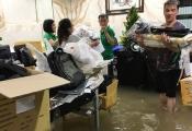 Nhà giàu Sài Gòn cũng khổ vì ngập lụt