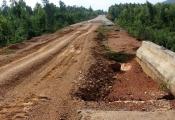 Khát vốn, dự án Quốc lộ 12A dang dở