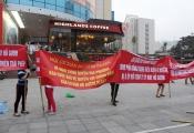 Cư dân chung cư Hồ Gươm Plaza biểu tình 4 ngày liên tiếp tố sai phạm của chủ đầu tư