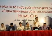 Đối thoại tại Home city: Mâu thuẫn chưa được giải quyết