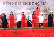 TP.HCM: Khởi công xây dựng Bến xe miền Đông mới