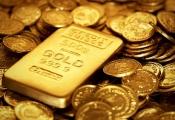 Trồi sụt liên tục, giá vàng tăng vẫn tổng cộng gần 1% trong tháng 4