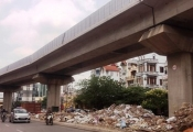 Đường sắt trên cao Cát Linh - Hà Đông: Lo chậm tiến độ do tắc vốn