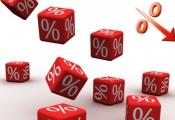 Mặt bằng lãi suất giảm mạnh, chỉ bằng 40% so với năm 2011